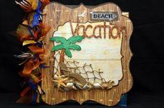 Wild About Scrapbooking's Beach Vacation Scrapbook