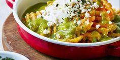 Receta Papas reja en salsa verde, estilo chilaquiles