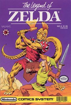 Valiant Nintendo Comics System - The Legend of ZELDA issue #5 (june 1990)
