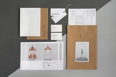 Art direction for the leather brand HOON (Paris III).Logotype, branding, editorial design & website.Serious Leather.