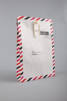 airmail  gift bag