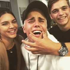 Justin Bieber smiles alongside Kendall Jenner. | 17 Celebrity Instagrams You Need To See This Week
