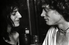Just Kids. Patti Smith & Robert Mapplethorpe photographed by Norman Seeff in the glamorous poverty of their Chelsea Hotel room, 1969.