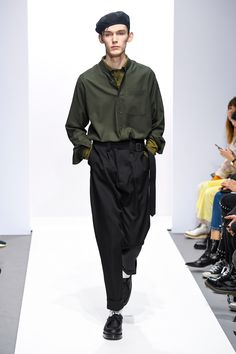 Margaret Howell Fall 2018 Ready-to-Wear Collection - Vogue La Mode  Masculine, 487fd9b34920