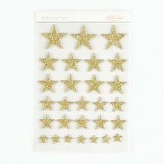 Picture of Glitter Chipboard Stars