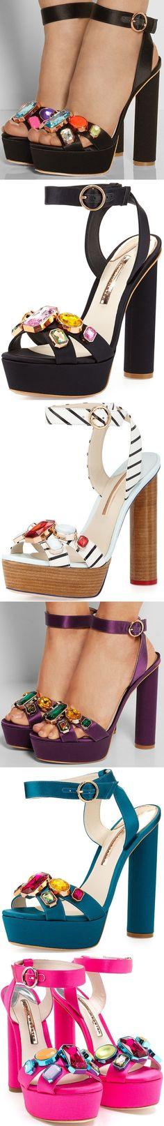 Sophia Webster Amanda Gem Platform Sandal