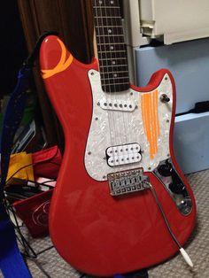 DIY:ギターデコってみた1