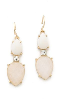 Club Monaco Opal Earrings