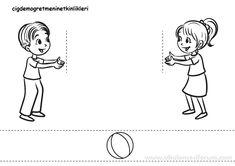 10 Minutes of quality time sayfasından alınmıştır Toddler Arts And Crafts, Easy Crafts For Kids, Diy For Kids, English Activities For Kids, English Worksheets For Kids, Preschool Books, Preschool Activities, Teaching Emotions, September Crafts