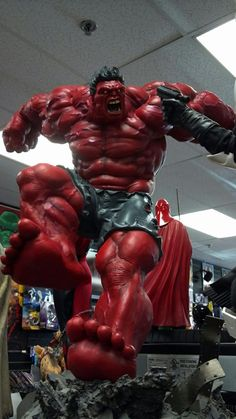 Red Hulk ... THIS IS FREAKING AWESOME !!!!!!!!!! °°