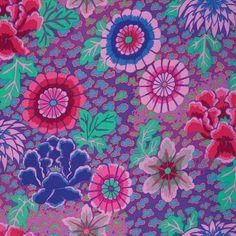 Free Spirit Fabrics Kaffe Fassett 2015 Collective Purple Dream   Quilting