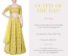 #mishru #designer #ootd #lehenga #elegance #shopnow #perniaspopupshop #happyshopping