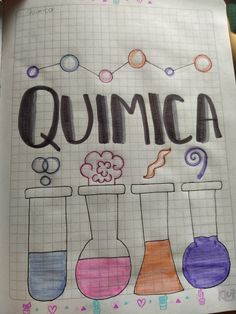 Quimica #quimica #marcar #apuntes #apunteslindos #book Notebook, Bullet Journal, Decorated Notebooks, Art, The Notebook, Exercise Book, Notebooks