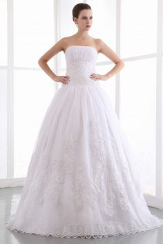 Organza Sweetheart Classic Bridal Gowns - Order Link: http://www.theweddingdresses.com/organza-sweetheart-classic-bridal-gowns-twdn0188.html - Embellishments: Beading , Sequin; Length: Floor Length; Fabric: Organza; Waist: Natural - Price: 164.17USD