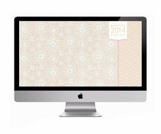 Free Pink Desktop Wallpaper Design by Two if by Sea Studios  Positivity & Hard Work