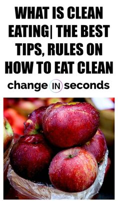 What Is Clean Eating The Best Tips, Rules On How To Eat Clean! We cover tips such as what to eat, how to shop, grocery lists, healthy recipes, meal planner & more! #healthyeating, #healthymeals, #healthyfood, #healthydiet, #healthymealprep, #healthyliving, #cleaneating, #eathealthy,