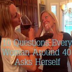 10 questions every woman around 40 asks herself. #humor #women