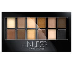 Avoid blue tones (it'll highlight those red eyes and Rudolph-esque nose) and stick to warm neutrals to give your face some life. Maybelline The Nudes Palette, $12; Maybelline.com    - MarieClaire.com
