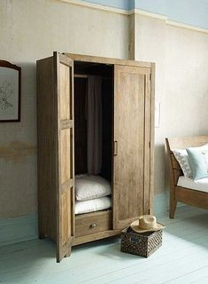 Sumatra Wooden Wardrobe from Lombok Home Decor Bedroom, Wooden Closet, Lombok Furniture, Wooden Wardrobe, Room Furniture, Furniture, Home Furniture, Wardrobe Furniture, Bedroom Furniture