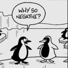 Negative Penguin