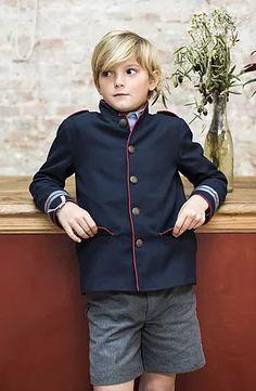Chaqueta Almirante Prince Charming, Southern Prep, Raincoat, Athletic, Zip, Boys, Jackets, Style, Fashion