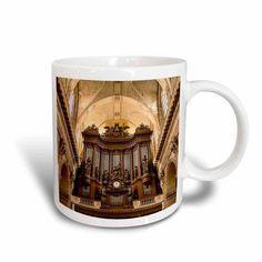 3dRose Pipe Organ in Eglise Saint Sulpice, Paris, France - EU09 BJN0588 - Brian Jannsen, Ceramic Mug, 11-ounce