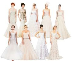 Some of our gowns in Chas Weddings Magazine!