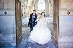 Love in the Ruins:  Couple Ties the Knot in Abandoned Catholic Church