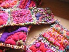 Fabric Journals, directions, tutorial, fiber art, mixed media, beautiful!