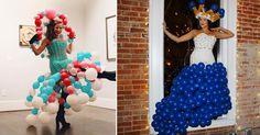 Das sind die schönsten Kleider aus Luftballons! #News #Fashion