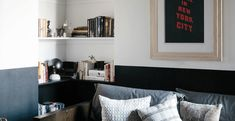"Before & After: A ""Not Too Brooklyn"" Bachelor Pad in Park Slope, Transformed with Paint - Remodelista"