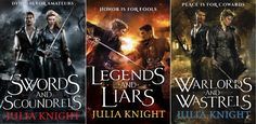Paul Marron (and Heather) on @Knight_Julia's Duelist Trilogy by @GeneMollica - so awesome!!