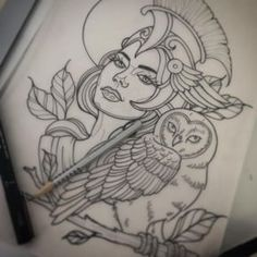 Athena Tattoo!!