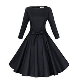 Padgene Vintage Damen Kleider Elegant 60er A-Linie Gürtel... https://www.amazon.de/dp/B0172STHNI/ref=cm_sw_r_pi_dp_x_-IaoybHED9TQV