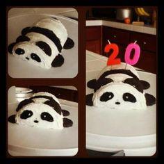 My panda cake!