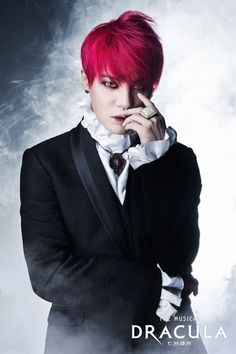 Kim Junsu's Transformation as Count Dracula Revealed~~~~Korean vampires. Yeah, I'm done.