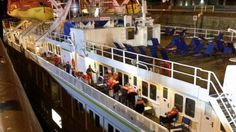 Cruise Ship Strikes Seaway Lock Wall in NY, 17 Injured PHOTO: A cruise ship struck a wall in a river lock in the Saint Lawrence Seaway in New York, June 18, 2015.