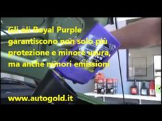 Perché utilizzare i lubrificanti Royal Purple