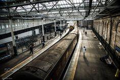 Edinburgh Waverley Station - a shot from my 2014 scotland trip