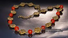 Ellys Shop: Colier jad si accesorii bronz la baza gatului Jad, Charmed, Bracelets, Handmade, Shopping, Jewelry, Fashion, Moda, Hand Made