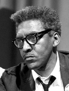 "Bayard Rustin was a leading civil rights activist who organized the March on Washington, where Martin Luther King Jr. delivered his famed ""I Have a Dream"" speech. Rustin advised King on Gandhian civil disobedience tactics, and he and King founded the Southern Christian Leadership Conference."