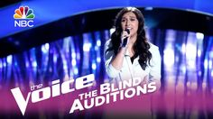 """The Voice 2017 Blind Audition - Hannah Mrozak: """"Starving"""""""