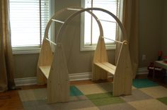 LOVE this!!! Waldorf play stand- this one is from Little Colorado.