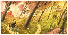 The WHEREVER YOU GO Illustration Journey – Eliza Wheeler