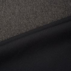 Designer Grey & Black Double Face Cashmere & Neoprene (£129.90/metre) | Joel & Son Fabrics