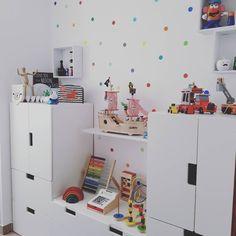Todo en orden 💪 #playroom #habitaciondejuegos #kidsroom #kidsroomdeco #ikea #ikeakids #stuva