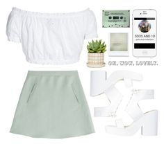 """""""Mine"""" by julia2508 ❤ liked on Polyvore featuring Valentino, GERMAN PRINCESS, Directioners and 5sosfam"""