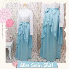 Handmade Satin Skirt made from Satin Cerruti  #handmade #skirt #satin #fashion #cute