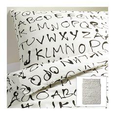 EIVOR ORD Duvet cover and pillowcase(s) - Full/Queen (Double/Queen)  - IKEA