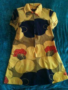 Vintage Kaarina Marimekko Dress 1960